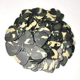 $enCountryForm.capitalKeyWord Canada - Lots of 100pcs Medium 0.71mm Blank Guitar Picks Plectrums Celluloid Camouflage For Acoustic Guitar