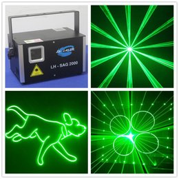 $enCountryForm.capitalKeyWord Australia - Free Shipping cheap stage lighting 2000mw green laser spot light with ilda and sd card laser projector system