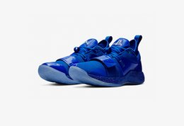 4150d7a4f4a6 2019 Release PlayStation x PG 2.5 Blue PLAYSTATION Basketball Shoes For Men  Authentic Quality Sneakers With Original Box BQ8388-900