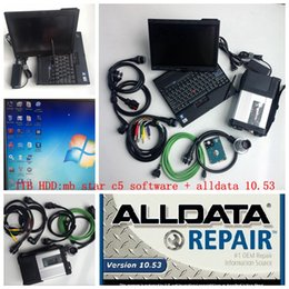 cable install UK - Top MB Star C5 MB SD Connect C5 Diagnositc Tool+MB Star Soft-ware V2020.06+Alldata V10.53+1tb hdd installed in X200t laptop touch