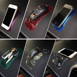 $enCountryForm.capitalKeyWord Australia - 1Pcs Car Gadget Anti Slip Mat Auto Interior Dashboard Phone Coin Gel Pads Non-slip Mat Holder For GPS Cell Phone