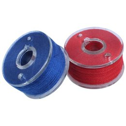 Wholesale singer brother resale online - Prewound Thread Bobbins with Bobbin Box for Brother Babylock Janome Elna Singer Assorted Colors Pieces