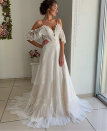 Vintage Dress For Muslim Australia - 2019 Spring Vintage Wedding Dress for Maternity Bridal Gowns Vestido De Noiva Strqpless French Lace Wedding gowns