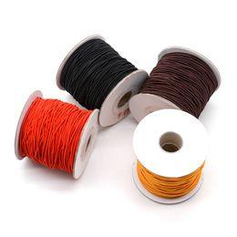 $enCountryForm.capitalKeyWord Australia - 10m bag 2mm Round Nylon Elastic Cord Beading Stretch Thread String Rope for Bead Chain Necklace Bracelet Jewelry Diy Hand Making