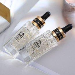 Cream Block NZ - Hot 24k gold primer Long-lasting moisturizing concealer base oil control cream transparent gold foil makeup milk