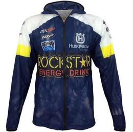 Motorcycle Protection Jacket Australia - NEW For husqvarna Motocross racing jackets With zipper Sun protection clothing Jacket motorcycle racing Breathable mesh jackets
