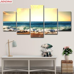 $enCountryForm.capitalKeyWord Australia - Full Square Round Drill 5D DIY diamond painting 5pc Sea sunset Pictures mosaic Diamond Embroidery Wall Arts J2209