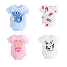 068d1485f3e Funny Baby Clothes Newborn Australia - Summer Newborn Baby Clothes Boy Girl  Kids Cotton Bodysuit Funny