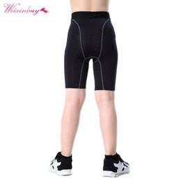 $enCountryForm.capitalKeyWord Australia - Youth Kids Boys Compression Base Layer Skins Shorts Quick-drying Mid Thigh Pants