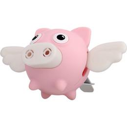$enCountryForm.capitalKeyWord UK - Car Perfume Small Flying Pig Cartoon Cute Car Air Conditioning Air Outlet Aromatherapy Clip Creative Wings Car Interior Decoration