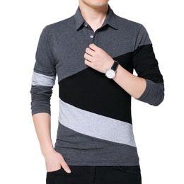 $enCountryForm.capitalKeyWord Australia - Brand New Polo Mens Long Sleeve Polo Shirt Mens Casual Shirts, T-shirts, Casual Male Streetwear 5xl Shirts Sweatshirt Stripe