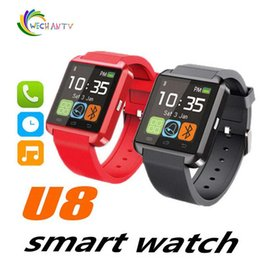 $enCountryForm.capitalKeyWord Australia - U8 Smart Watch Watches WristWatch Bluetooth Smartwatch for iPhone 5S 6 Plus Samsung Galaxy S5 S6 Edge Note 4 Android Phone
