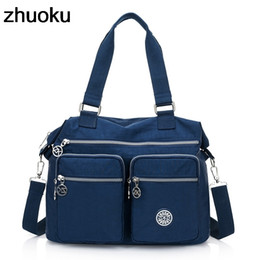 Nylon Totes Bags Australia - Women Top-handle Shoulder Bag Luxury Handbags Designer Nylon Messenger Bags Beach Casual Tote Female Purse Crossbody Bags