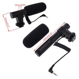 Dslr Slr Camera Australia - Hypercardioid Microphone 3.5mm Digital Talk Recording Video Interview Hifi Audio HD Mini Mic for SLR DSLR Camera