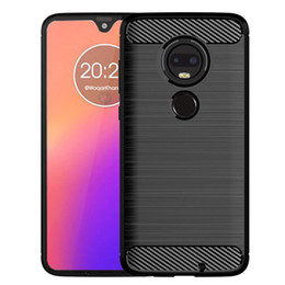 $enCountryForm.capitalKeyWord Australia - Case Cover For Moto G7 G7 Plus G7 Power G 7 Play Slim Soft Anti-slip Carbon Fiber brushed TPU Cellphone Case with retail package