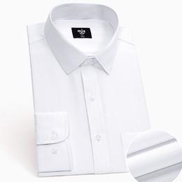 black shirt office men 2019 - long sleeve office shirt 2019 summer slim fit shirts cotton black white mens dress shirt wedding men fashion clothing ch