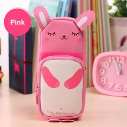 Pack Supplies Australia - 2 Pack Cosmetic Bag, Cute Milk Shape Pencil Bag 3D Panda Pencil Case Large Capacity School Supplies Novelty Item for Kids
