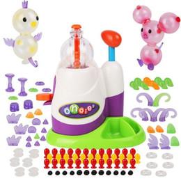 Funny Toys Music Australia - Innovative Kids Craft Handmade Toys Sticky Ball Inflatable Diy Funny Music Toy English Version Boys Girls Gift J190521