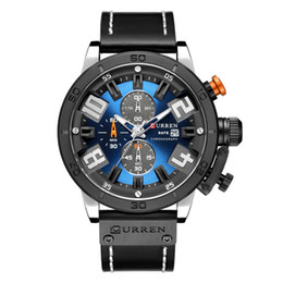 $enCountryForm.capitalKeyWord Australia - Man Round Waterproof Wrist Japan Mechanism Fashion The Skin Surface Date Display automatic quartz casual mechanical watches men master Sale