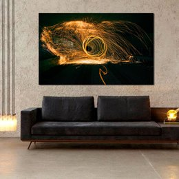 $enCountryForm.capitalKeyWord Australia - 1 Piece Wall Art Picture Home Decor Living Room Abstract Fountains Fish Modern Canvas Print Painting No Frame