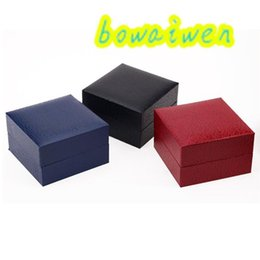 Discount gift boxes for bracelet watches - bowaiwen #0065 Durable Present Gift Hard Case For Bracelet Bangle Jewelry Watch Box populirity Black