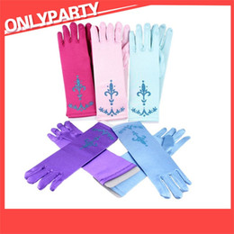 $enCountryForm.capitalKeyWord Australia - Children Printing Glove Child Dancing Party Princess Queen Gloves Halloween Blue Red Purple Green Mitts New Arrival 3 9wt L1