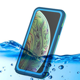 dust waterproof iphone case NZ - For iPhone XS Max Waterproof Dust Shockproof Hard Case Full Sealed Protector Back Cover For Iphone XS XR Support Wireless Charging