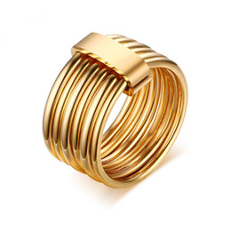 Hot Sale Men Women Stainless Steel Rings Gold Rose Gold Plated Ring High Polished Shinning Rings Jewelry For Men Women Gifts from electronics android manufacturers