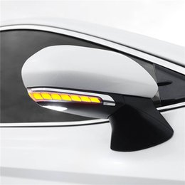 toyota camry lights Australia - wing side door rear view mirror following moving sequential blinker led dynamic turn signal lights trip for toyota camry ez