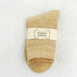 warmest thermal socks UK - Free DHL 10 Styles Lady Autumn Winter Cotton Warm Socks Fashion Casual Socks Heavy Thermal Thick Plus Velvet Stockings for Women Girls