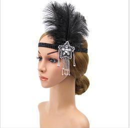 Feather Balls Australia - Ball party hairdress feathered fringed Headband