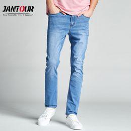 $enCountryForm.capitalKeyWord Australia - Jantour 2019 New Summer Spring Jeans Men High Quality Brand Denim Trousers Soft Straight Mens Pants Man Fashion Big Size 28-40