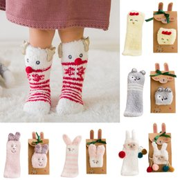 $enCountryForm.capitalKeyWord NZ - Toddler Infant Baby Boy Girl Socks Cartoon Floor Non-slip Toddlers Christmas Socks Xmas Winter Step Shoes Warm