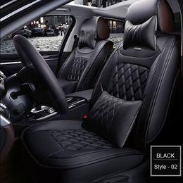 $enCountryForm.capitalKeyWord Australia - LUNDA PU Leather Seat Covers set For BMW e30 e34 x3 x5 x6 toyota Universal full Interior Accessories Protector Auto Car-Styling