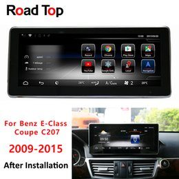 Wifi head unit online shopping - Octa Core CPU G Android Car Radio Bluetooth GPS Navigation WiFi Head Unit Screen for Mercedes Benz E Class Coupe C207