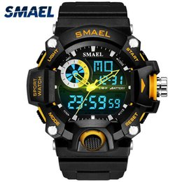 $enCountryForm.capitalKeyWord Australia - Smael Watches Mens Led Digital Watch Men Sports Military Army Wristwatches Male Analog S Shock Resistant Clock Men Reloj Hombre MX190717