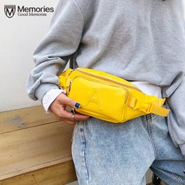 $enCountryForm.capitalKeyWord Australia - Women Waist Bags Leather Fanny Pack Yellow Hobos Belt Chest Bag Small Shoulder Bag Lady Belly Belt Bags Waist Pack Purse Bolsas