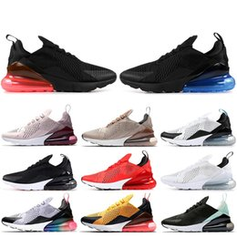 cheap for discount 9d47d a599a nike air max 270 Zapatillas deportivas baratas para hombre mujer aire  triple negro blanco Tiger LIGHT BONE BARELY ROSE HABANERO RED para hombre  zapatillas ...