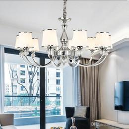 Lustre pendant online shopping - Modern Lustre Chrome Metal Led Chandeliers Lighting Crystal Living Room Led Pendant Chandeliers Lights Bedroom Led Hanging Light