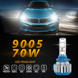 dropship lighting Australia - Car Light 9005 2pc 70W 7000LM Car LED Headlight 6000K B2 Canbus Fog Lamp Head 9-32V dropship 19F15