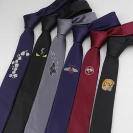 Mens wedding neckwear online shopping - Mens cm Width Tie Narrow Design Necktie Designer Jacquard Wedding Ties Narrow Classic Corbata Neckwear Official Gravata