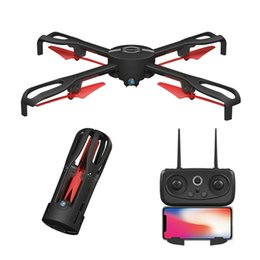 Wifi Electric Australia - IDEA9 2.4Ghz GPS FPV Wifi 1080P Mini Drone With HD Camera Foldable RC Quadcopter Selfie Altitude Hold Helicopter Drone
