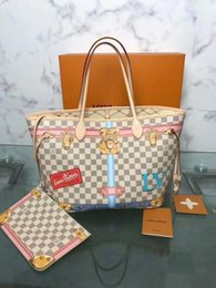 $enCountryForm.capitalKeyWord Australia - Medium Fashion Casual Suitcase Silk Screen Handbag N41065 Top Oxidized Real Leather Shoulder Bag Totes Cross Body Business Messenger Bags