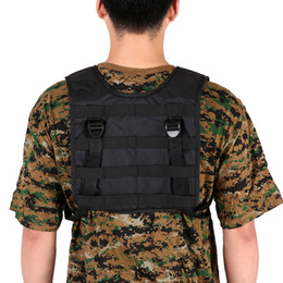 China Airsoft Tactical Vest Outdoor Hunting Vest Oxford Molle Vest Modular Molle Combat Assault Plate Carrier Training Game suppliers
