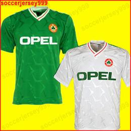 5435dc328 Ireland shIrts online shopping - Top thailand Ireland RETRO soccer jersey  football shirt Republic of Ireland