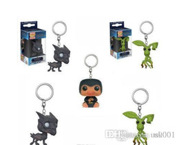 fantastic action figures Australia - US Funko POP Fantastic Beasts keychains The Crimes of Grindelwald Thestral Pickett Action Figure Collection Model Toy