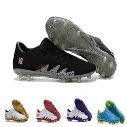 1d7bf4cf74aa 2018 Mens low ankle FG soccer cleats Hypervenom Phantom III DF soccer shoes  neymar IC football boots cleats Men football shoes EUR 40-46