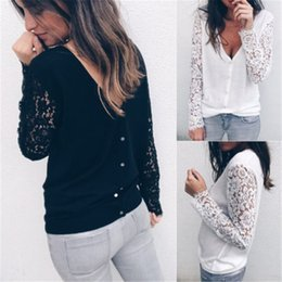 women long lace cardigan NZ - Women Designer Sweater Sweaters Woman Autumn Women Winter Female Lace Korean Long Sleeve Slim Pockets Sweater Women Tops Drop Shipping