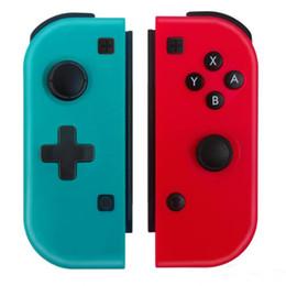 Toptan satış Kablosuz Bluetooth Gamepad Kontrolör için Nintendo Anahtarı Konsol Anahtarı Game Kontrolörler Joystick için Nintendo Game Joy-con MQ12 gibi