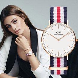 $enCountryForm.capitalKeyWord Australia - New Fashion Daniel Wellington's watches 40mm Men watch For Woman Watches Quartz Bracelet Wristwatches Montre Femme Christmas gift Box